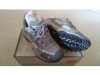 North Face Hedgehog waterproof hiking shoe, Women's GTX XCR, size: UK 8, colour: QSLVR / SAGEGRASS