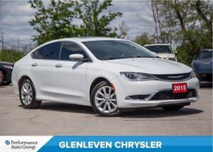 2015 Chrysler 200 C | V6 | PANORAMIC ROOF | LEATHER