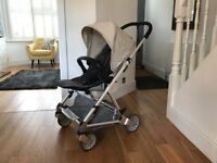Urbo2 Pushchair and Carrycot with Aton car seat and Isofix Base with accessories