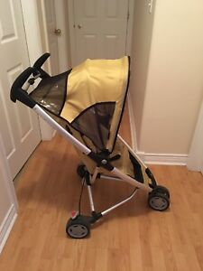 Neon Green Quinny Zapp with folding seat