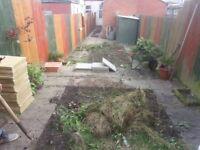 Slabs, Decking, Fencing, Gardening, Hedges