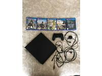 PS4 500gb and games