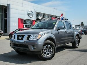 2017 Nissan Frontier PRO-4X, LEATHER, NAVIGATION