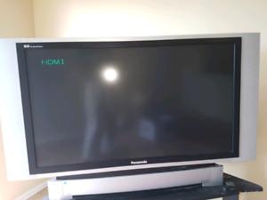 "TV Panasonic 55"" sans remote"