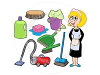 Cleaner, £9 per hour