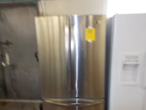 Stainless french door fridge. 90 day warranty. $799