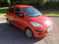 Hyundai i10 2010 1.2 petrol comfort 5 Door Cheap Small 5 door Car