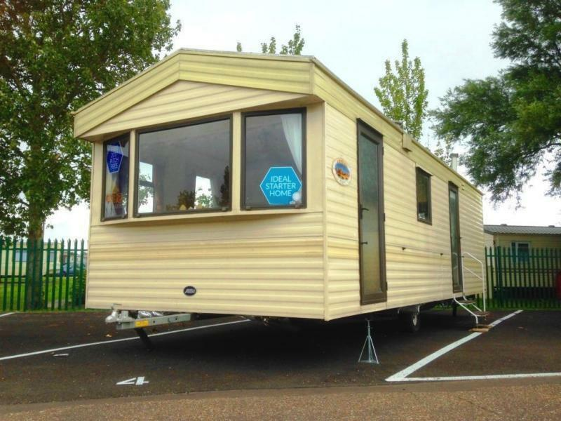 Static Caravan Clacton-on-Sea Essex 2 Bedrooms 6 Berth ABI Arizona 2004 St