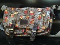 3 Owl bags