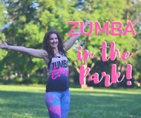 Zumba at Exhibition Park