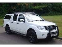 2012 Nissan Navara Double Cab Pickup.. Diesel.. 4x4.. Tiptronic Automatic.. FSH.. Hi Spec.. NO VAT..