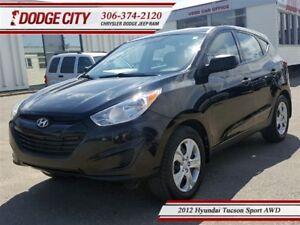 2012 Hyundai Tucson Sport | AWD | PST PAID