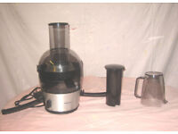 Phillips Juicer, all accessories, excellent condition