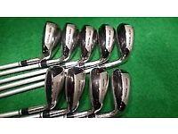 Full Set of Slazenger Big Ezee Hybrid Irons 3-SW R/S Combo Graphite