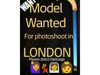 Volunteer model neede for build new professional portfolio
