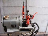 RIDGID 1233 pipe threader 110volt