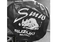 Suzuki spare wheel cover