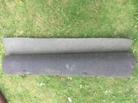 1 Roll Shed Roofing black Felt 6 metres x 1 metre Mineral Finish