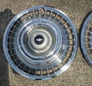 Set of 5 1964 Chev Impala Wheel Covers