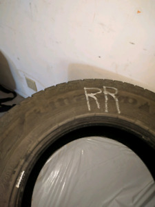 Used Good year Ultragrip Ice Winter tires 235 70R16