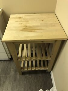 Kitchen organizer table