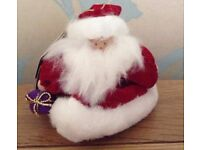 Christmas in July Santa Bell Hanging Christmas Tree Decoration BNWT