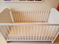 East Coast Angelina Cot Bed plus mattress