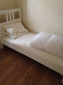 Never used ikea single bed