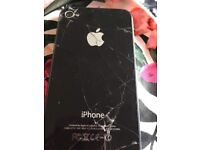 IPhone 4s all works, unlocked, pick up only, charger comes with it, few cracks on front&back