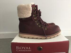 Bottes en cuir Royal Canadian