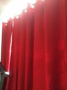 Red Curtains from Bouclair