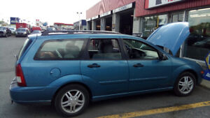 2001 Ford Focus SE Familiale 2.0 4 cyl Station Wagon