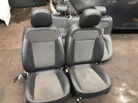 VAUXHALL ASTRA J. 1/2. LEATHER TRIM. COMPLETE. SEATS