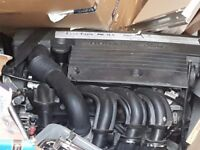 Fiesta engine complete1.25 with gear box alternator auxiliaries forty thousand miles