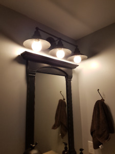 BRAND NEW IN BOX - FEISS INDUSTRIAL STYLE VANITY LIGHT
