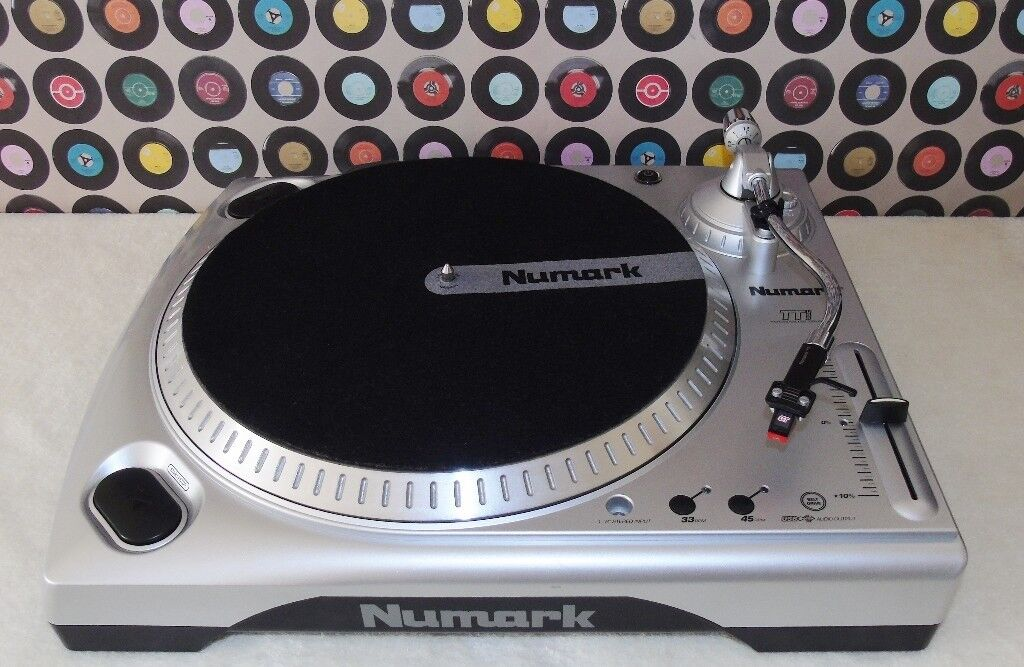 Numark ttusb turntable with cables & manual (lightly used.