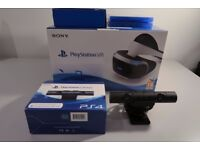 Playstation VR Bundle with Camera, Move Controllers, Games and Carry Case