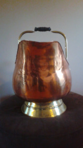 Brass and copper jug ( large size )