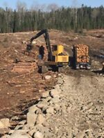 Experience buncher and log loader operator needed.