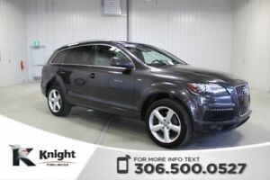 2013 Audi Q7 3.0L Premium Navigation, Moon Roof
