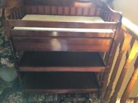 American baby changing table