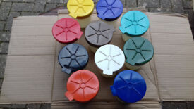 10 Paint Pots. Ideal for keeping paint in its proper place!!