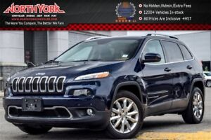 2016 Jeep Cherokee Limited|Leather|Nav|HTD Frnt Seats|Backup Cam