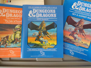 Dungeons and Dragons Modules (Never used/played) and other items