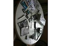 Retro original Nintendo Game Boy Advance with Travel Pack and five games (grey)