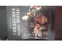 Treasures in your home. Readers Digest, hard back book with a hard cover sleeve