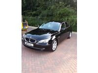 BMW 5 SERIES AUTO 520D 177BHP very economical London area, lot's of extras, cheap to incure