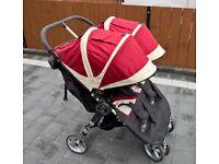Baby Jogger City Mini Double buggy pram