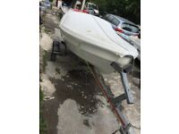 Lunar boat nearly new