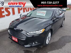 2014 Ford Fusion SE ALL WHEEL DRIVE, POWER SUNROOF, BACK UP C...